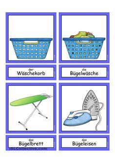 Waschtag _ Flashcards klein                                                                                                                                                                                 Mehr