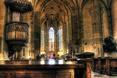 Martin Cathedral from deviantART: by *Satourne Bratislava Slovakia, Strasbourg, Cathedrals, Worlds Largest, Europe, Deviantart, Stone, Interior, Travel