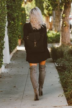 9e92b3b6730 Bell Sleeves   Thigh Highs. Shoedazzle BootsThigh ...