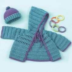 Simply Soft Baby Hoodie and Hat