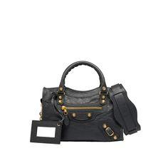 ba6afe7a18d7 Balenciaga Giant 12 Gold Mini City Black  Black - Women s Cross Body Bag  Louis Vuitton