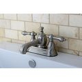 French Country Satin Nickel 4-inch Centerset Bathroom Faucet | Overstock.com