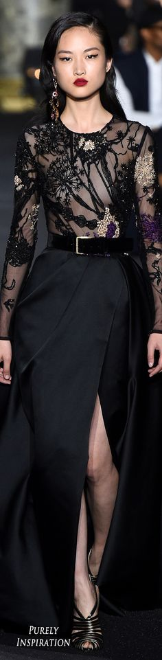 Elie Saab Fall 2016 Haute Couture   Purely Inspiration