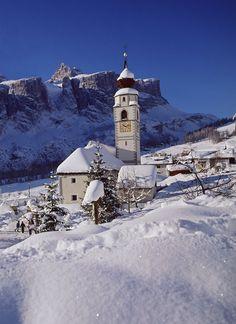 Colfosco Church - Alta Badia
