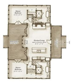 Milledgeville Terrace House Plan by Our Town Plans This is t.- Milledgeville Terrace House Plan by Our Town Plans This is the Milledgeville Ter… - Best House Plans, Dream House Plans, Small House Plans, Small Floor Plans, Dog Trot House Plans, Town House Floor Plan, Micro House Plans, The Plan, How To Plan