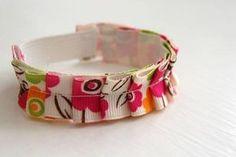 DIY Bracelet: DIY Cute Ruffle Bracelet