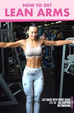 Fitness Workouts, Fitness Workout For Women, Fitness Tips, At Home Workouts, Upper Arm Workouts, Toned Arm Workouts, Upper Body Exercises, Arm Exercises With Weights, Arm Toning Exercises