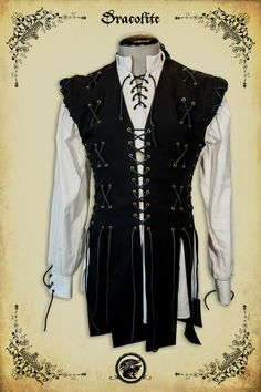 Knight jacket 195$ http://www.medievalboutique.com/