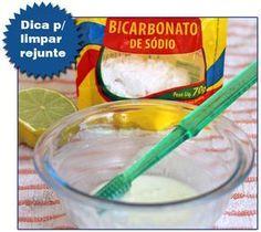 Dica: Misturinha Caseira para Limpar Rejuntes ~ PANELATERAPIA - Blog de Culinária, Gastronomia e Receitas