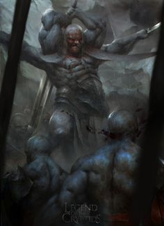 Artist: Piotr Jablonski aka nicponim - Title: Demon Knight adv - Card: Moral Demon Rutoi (Wicked Virtue)
