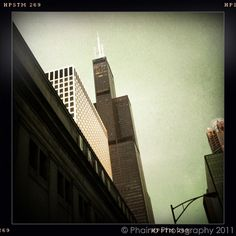 Sears Tower from Union Station, Chicago Loop