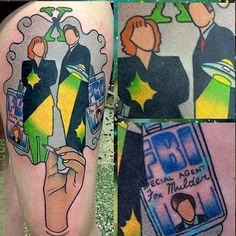 The Truth Is Out There In These X-Files Tattoos | Tattoodo