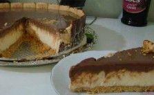 São duas coisas que eu não resisto, sorvete e torta holandesa, fazer os dois em uma só receita é espetacular! Experimente fazer essa delicia. Torta Holandesa com Sorvete.