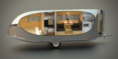 The Bowlus Road Chief cutaway