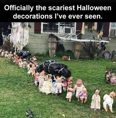 Fete Halloween, Scary Halloween Decorations, Outdoor Halloween, Holidays Halloween, Halloween Pranks, Really Funny Memes, Stupid Funny Memes, Funny Relatable Memes, Hilarious