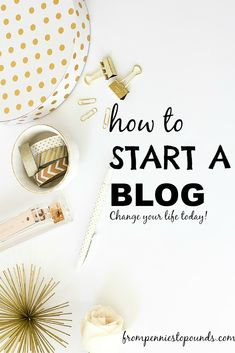 Step-by-step Guide for How to Start a Blog for beginners. Learn how to set up a blog on Wordpress - change your life today! Work From Home & Make Money Blogging. http://www.frompenniestopounds.com/?p=223