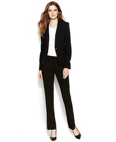 Calvin Klein Petite Stretch Blend Suit Separates Collection ...