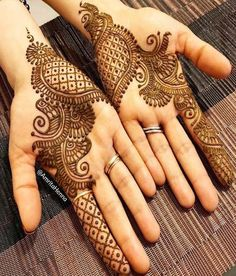 Explore latest Mehndi Designs images in 2019 on Happy Shappy. Mehendi design is also known as the heena design or henna patterns worldwide. We are here with the best mehndi designs images from worldwide. Henna Hand Designs, Mehndi Designs Finger, Palm Mehndi Design, Latest Arabic Mehndi Designs, Mehndi Designs For Girls, Mehndi Designs 2018, Mehndi Designs For Beginners, Modern Mehndi Designs, Mehndi Designs For Fingers