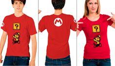Playeras Videojuegos Gamers Mario Bros - $ 140.00 en MercadoLibre