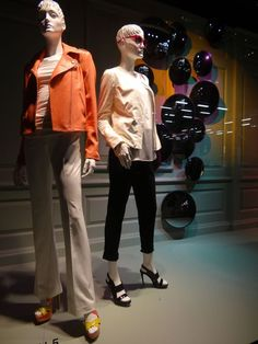 "Saks Fifth Avenue NY, ""Mirror,Mirror on the Wall......"", pinned by Ton van der Veer"