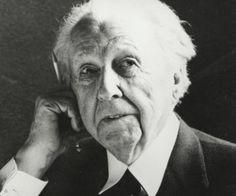 La frase del día Frank Lloyd Wright