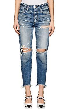 Moussy Garnet Distressed Skinny Jeans - Jeans - 505565130