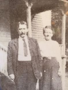 William and Ada Louise Roesch. Ada Louise was the daughter of John Carol Houston. William started first newspaper and post office in Eau Gallie, Florida