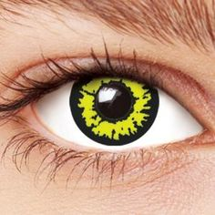 Werewolf Yellow Contact Lenses