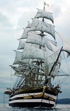 Amerigo Vespucci I can almost taste the salt on my lips  and the wind in my face!