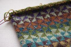 Tricksy Knitter by Megan Goodacre Fair Isle Knitting Patterns, Knitting Blogs, Fair Isle Pattern, Knitting Charts, Knitting Stitches, Knitting Socks, Knit Patterns, Knitting Projects, Crochet Projects