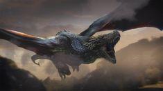 Mythological Creatures, Fantasy Creatures, Mythical Creatures, Got Dragons, Mother Of Dragons, Dragon Artwork, Game Of Thrones Art, Creature Concept Art, Dragon Pictures