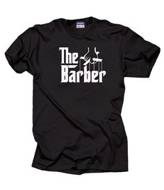 The Barber T-Shirt Profession Tee Shirt Gift by MilkyWayTshirts
