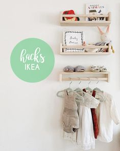 The most beautiful Ikea hacks. Who does not have it at home, one or the other Ikea-M . - Ikea DIY - The best IKEA hacks all in one place Baby Bedroom, Nursery Room, Bedroom Kids, Nursery Decor, Nursery Ideas, Bedroom Small, Trendy Bedroom, Baby Decor, Child's Room
