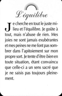 Exemple carte Jeu des qualités Positive Mind, Positive Attitude, Love Words, Beautiful Words, Words Quotes, Life Quotes, Quote Citation, French Quotes, Amazing Quotes