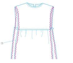 型紙なしで作れる!大人服&子ども服 Crop Tops, Sewing, Kids, How To Wear, Handmade, Women, Fashion, Children, Hand Made