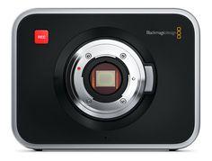 """La Blackmagic Cinema Camera è una macchina da presa digitale in alluminio, con un display LCD da 5"""" touchscreen e nove pulsanti di comando situati sul retro della camera.E' dotata di un sensore da 16,64 x 14,04, adatto a registrare immagini con risoluzione di 2.5K e 13 stop di Dynamic Range.Il nuovo sistema Micro Quattro Terzi (MFT) Mount offre una nuova entusiasmante caratteristica, dando la compatibilità con una vasta gamma di lenti a comando manuale, e può essere facilmente adattato per…"""