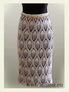 Crochet skirt pattern | Skirt Crochet Pattern No 88 by Illiana on Etsy, $4.90