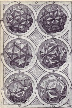 Wenzel Jamnitzer (1507/1508 – 1585) Sacred Geometry <3