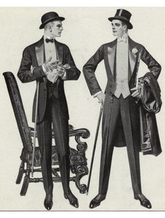 1900 Men's tailcoat