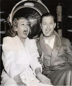 Carole and Robert Montgomery