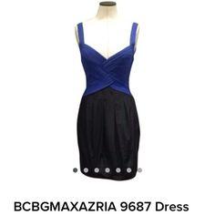 BCBGMAXAZRIA Black and Blue Dress BCBGMAXAZRIA Black and Blue Dress BCBGMaxAzria Dresses