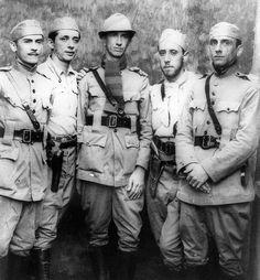 Soldados constitucionalistas em Itararé.