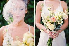 loose wedding bouquet