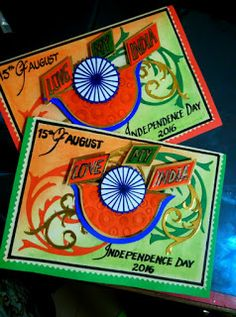 Art ,Craft ideas and bulletin boards for elementary schools: Independence Day card Poster On Independence Day, Independence Day Drawing, Happy Independence Day India, Incredible India Posters, Art Bulletin Boards, India Crafts, Republic Day, Art N Craft, School Decorations
