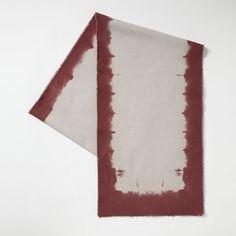 Dip-Dye Table Runner | west elm