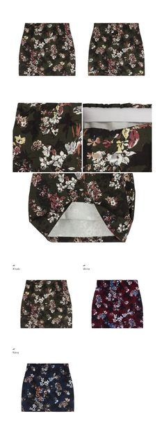 http://mixxmix.us/product/Floral-Print-Elastic-Waist-Mini-Skirt/30064/?cate_no=651&display_group=1