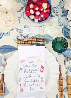 Aerin's-Southampton-Luncheon-menus-by-Happy-Menocal-Juliska-Bamboo-Flatware.jpg (310×426)