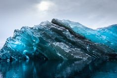 While on an expedition in Antarctica, interface designer and filmmaker Alex Cornell was treated to the rare sight of a massive iceberg that had recently fl