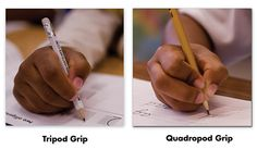We at nellieedge.com like this link. Check out the short pencils and the 4 steps to teach correct grip.