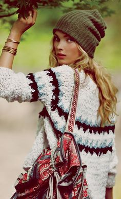 Classic Fair Isle #Sweater Is Back ! What To #Wear With Fair Isle #Sweaters ?  by Style With Shannon
